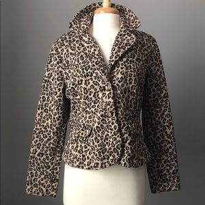 CATO Leopard Jacket size 16
